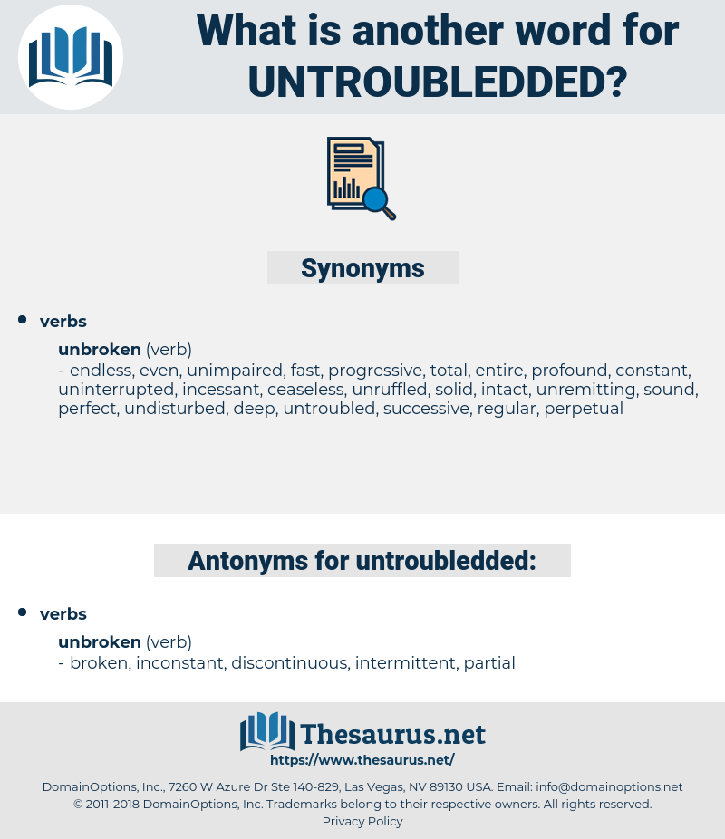 untroubledded, synonym untroubledded, another word for untroubledded, words like untroubledded, thesaurus untroubledded