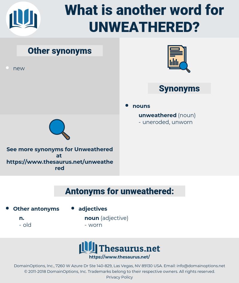 unweathered, synonym unweathered, another word for unweathered, words like unweathered, thesaurus unweathered