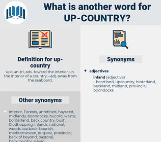 up-country, synonym up-country, another word for up-country, words like up-country, thesaurus up-country