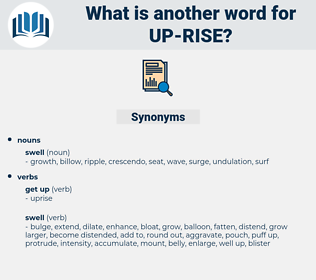 up-rise, synonym up-rise, another word for up-rise, words like up-rise, thesaurus up-rise