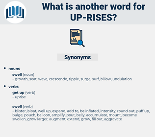 up rises, synonym up rises, another word for up rises, words like up rises, thesaurus up rises