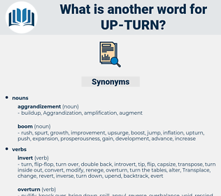 up-turn, synonym up-turn, another word for up-turn, words like up-turn, thesaurus up-turn