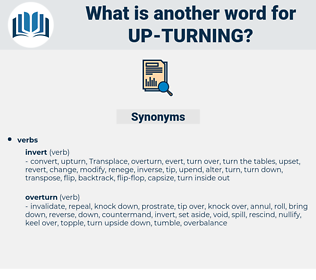 up-turning, synonym up-turning, another word for up-turning, words like up-turning, thesaurus up-turning