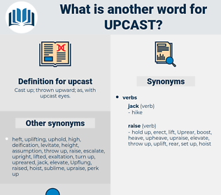 upcast, synonym upcast, another word for upcast, words like upcast, thesaurus upcast