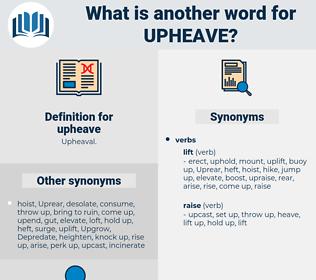 upheave, synonym upheave, another word for upheave, words like upheave, thesaurus upheave