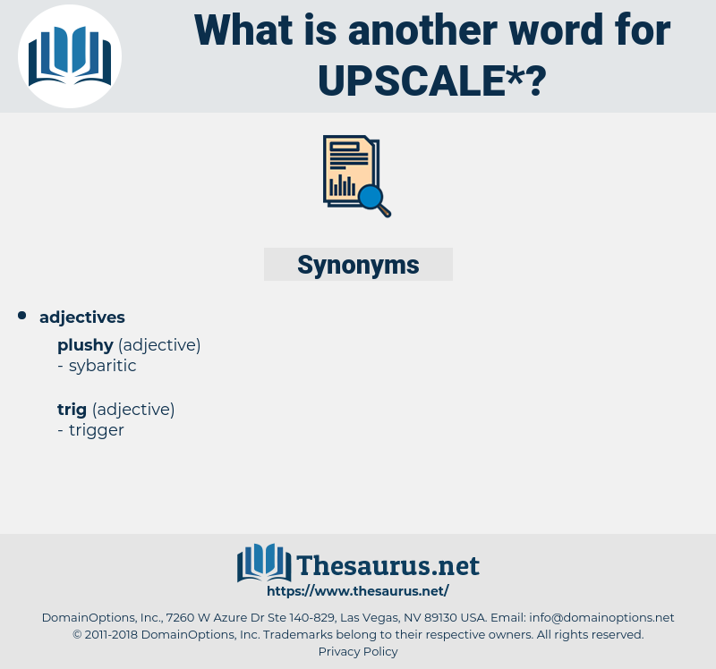 upscale, synonym upscale, another word for upscale, words like upscale, thesaurus upscale