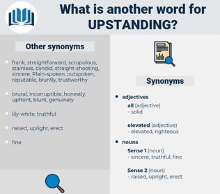 upstanding, synonym upstanding, another word for upstanding, words like upstanding, thesaurus upstanding