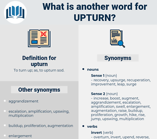 upturn, synonym upturn, another word for upturn, words like upturn, thesaurus upturn