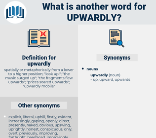 upwardly, synonym upwardly, another word for upwardly, words like upwardly, thesaurus upwardly