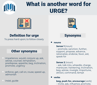 urge, synonym urge, another word for urge, words like urge, thesaurus urge