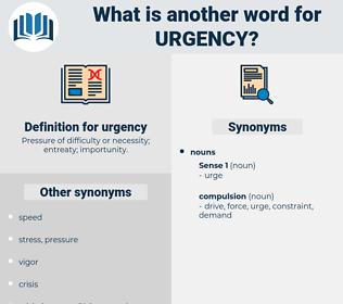 urgency, synonym urgency, another word for urgency, words like urgency, thesaurus urgency