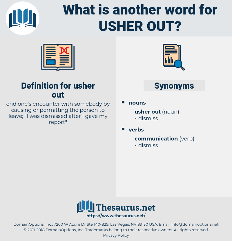 usher out, synonym usher out, another word for usher out, words like usher out, thesaurus usher out