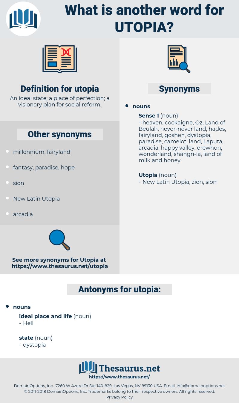 utopia, synonym utopia, another word for utopia, words like utopia, thesaurus utopia