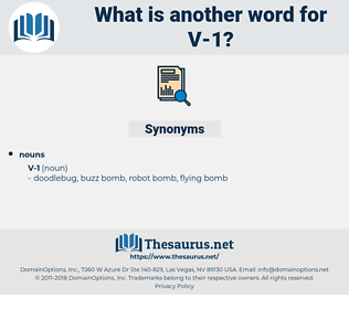v-1, synonym v-1, another word for v-1, words like v-1, thesaurus v-1