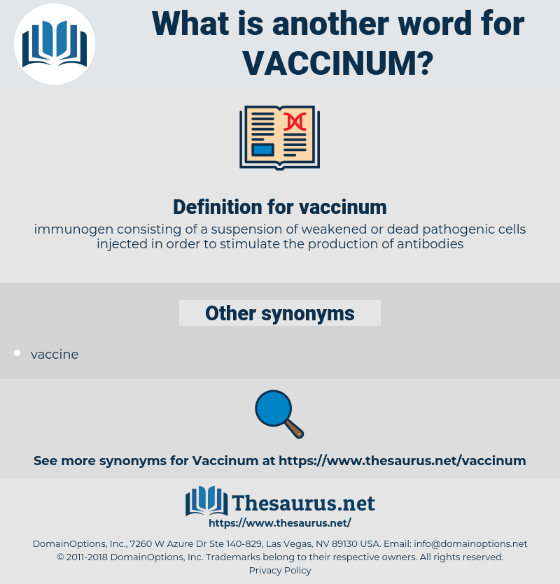 vaccinum, synonym vaccinum, another word for vaccinum, words like vaccinum, thesaurus vaccinum