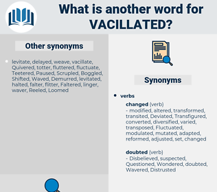 Vacillated, synonym Vacillated, another word for Vacillated, words like Vacillated, thesaurus Vacillated