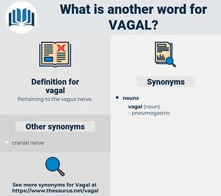 vagal, synonym vagal, another word for vagal, words like vagal, thesaurus vagal