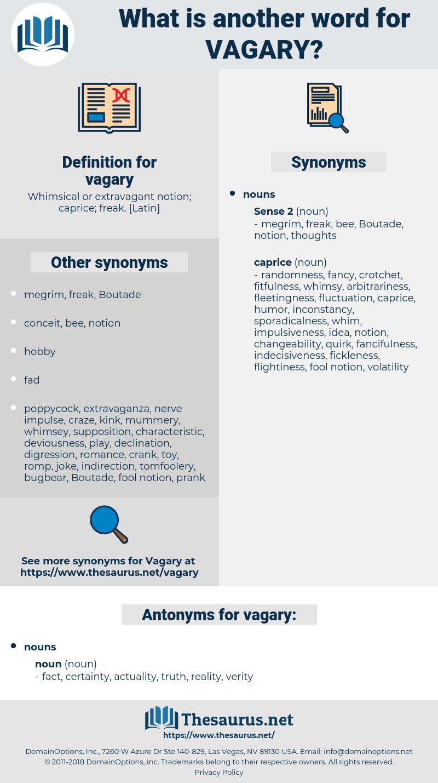 vagary, synonym vagary, another word for vagary, words like vagary, thesaurus vagary