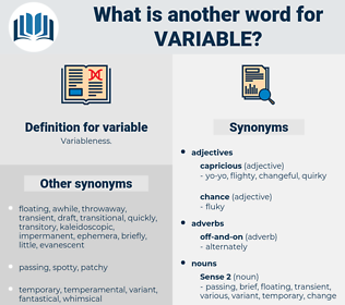 variable, synonym variable, another word for variable, words like variable, thesaurus variable