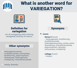 variegation, synonym variegation, another word for variegation, words like variegation, thesaurus variegation
