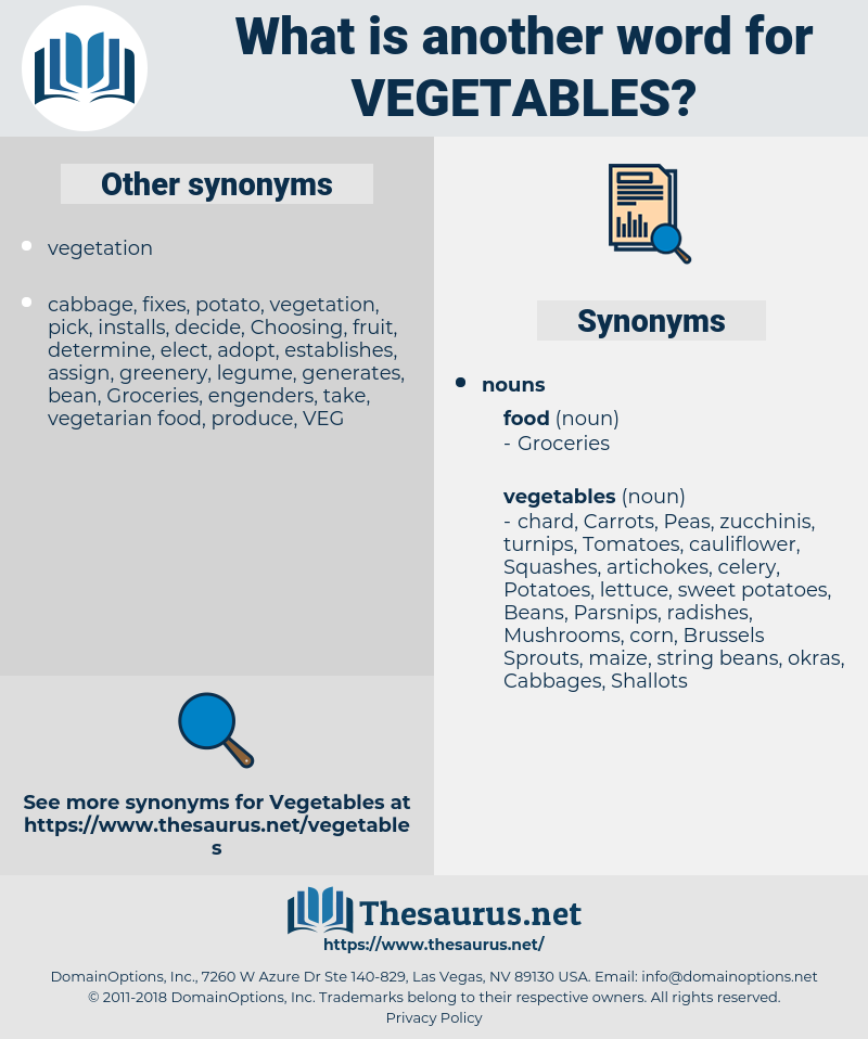 vegetables, synonym vegetables, another word for vegetables, words like vegetables, thesaurus vegetables
