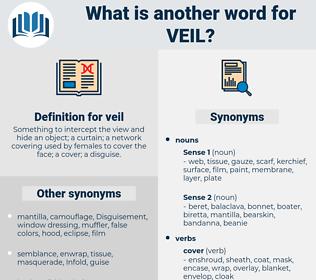 veil, synonym veil, another word for veil, words like veil, thesaurus veil