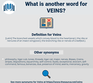 Veins, synonym Veins, another word for Veins, words like Veins, thesaurus Veins