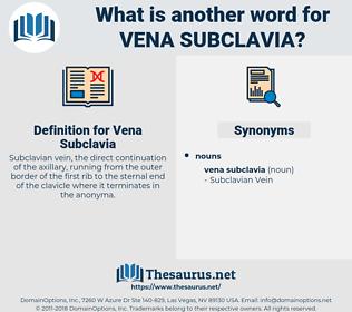 Vena Subclavia, synonym Vena Subclavia, another word for Vena Subclavia, words like Vena Subclavia, thesaurus Vena Subclavia
