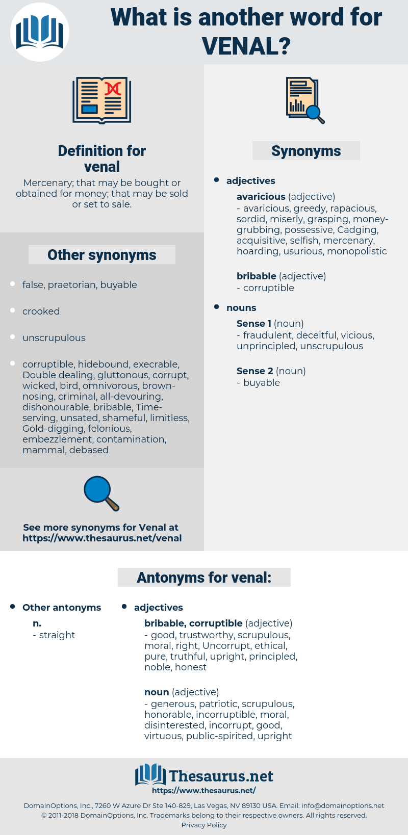venal, synonym venal, another word for venal, words like venal, thesaurus venal