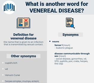 venereal disease, synonym venereal disease, another word for venereal disease, words like venereal disease, thesaurus venereal disease