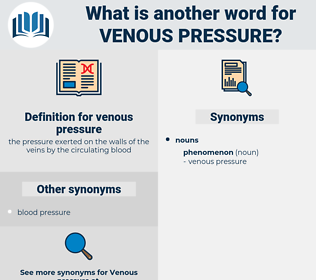 venous pressure, synonym venous pressure, another word for venous pressure, words like venous pressure, thesaurus venous pressure