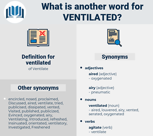 ventilated, synonym ventilated, another word for ventilated, words like ventilated, thesaurus ventilated