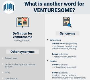 venturesome, synonym venturesome, another word for venturesome, words like venturesome, thesaurus venturesome