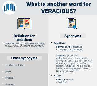 veracious, synonym veracious, another word for veracious, words like veracious, thesaurus veracious