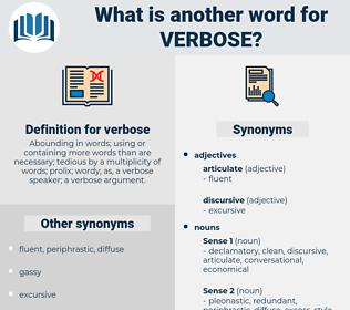 verbose, synonym verbose, another word for verbose, words like verbose, thesaurus verbose