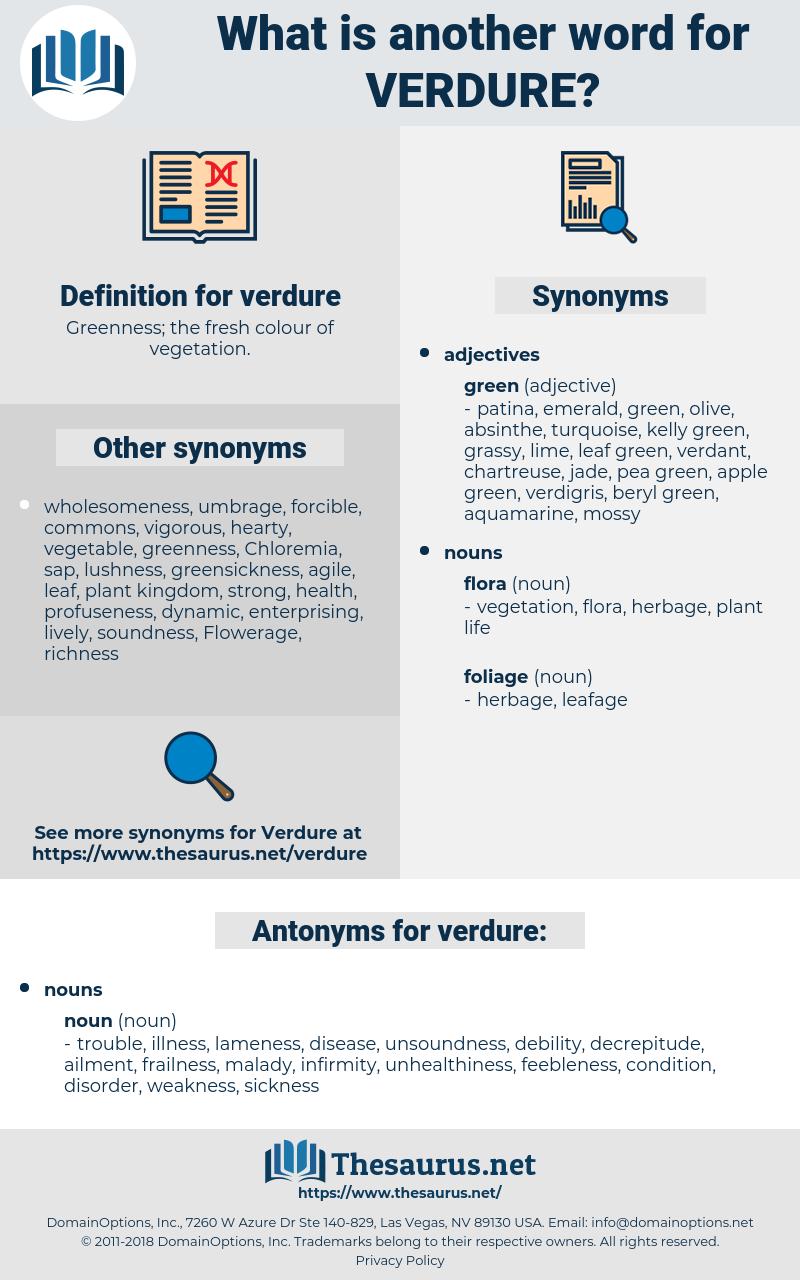 verdure, synonym verdure, another word for verdure, words like verdure, thesaurus verdure