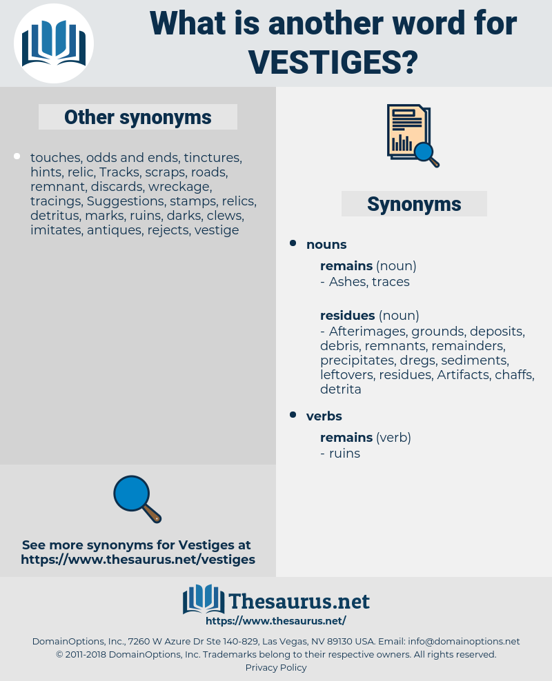 vestiges, synonym vestiges, another word for vestiges, words like vestiges, thesaurus vestiges
