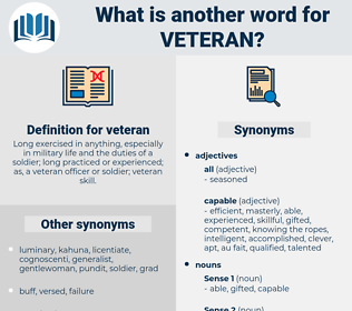 veteran, synonym veteran, another word for veteran, words like veteran, thesaurus veteran