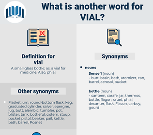 vial, synonym vial, another word for vial, words like vial, thesaurus vial