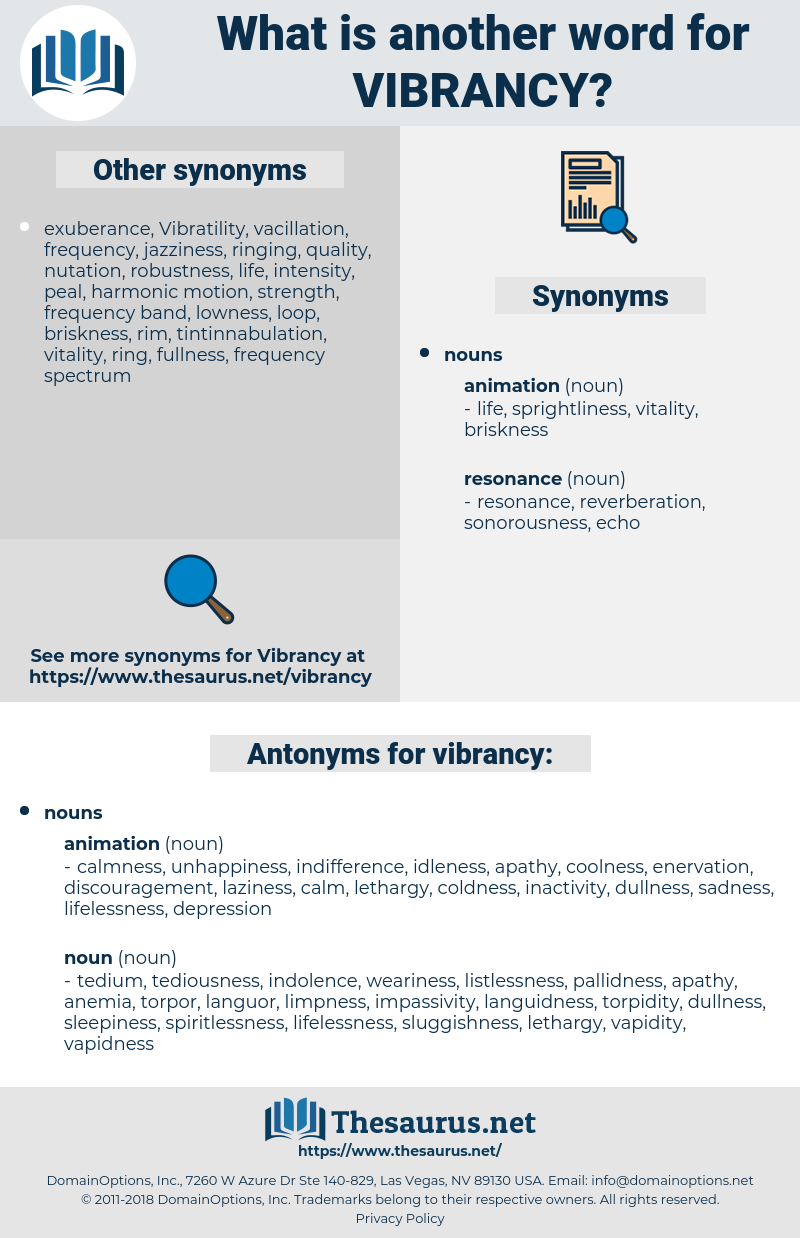 vibrancy, synonym vibrancy, another word for vibrancy, words like vibrancy, thesaurus vibrancy