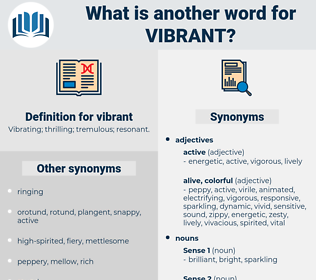 vibrant, synonym vibrant, another word for vibrant, words like vibrant, thesaurus vibrant