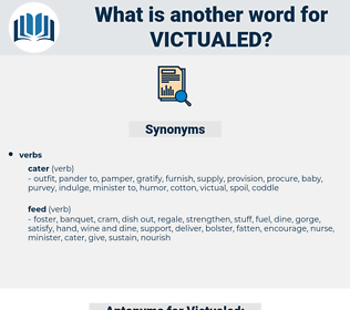 Victualed, synonym Victualed, another word for Victualed, words like Victualed, thesaurus Victualed