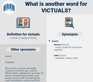 victuals, synonym victuals, another word for victuals, words like victuals, thesaurus victuals