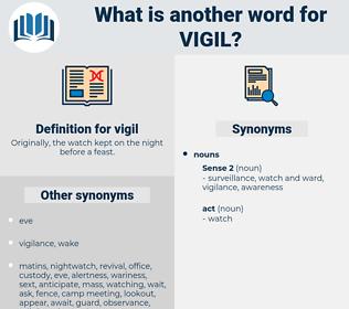 vigil, synonym vigil, another word for vigil, words like vigil, thesaurus vigil