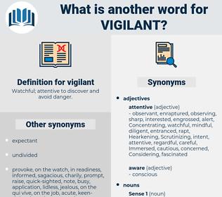 vigilant, synonym vigilant, another word for vigilant, words like vigilant, thesaurus vigilant