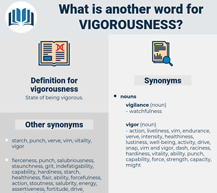 vigorousness, synonym vigorousness, another word for vigorousness, words like vigorousness, thesaurus vigorousness