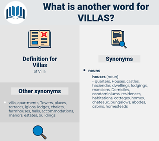 Villas, synonym Villas, another word for Villas, words like Villas, thesaurus Villas