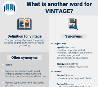 vintage, synonym vintage, another word for vintage, words like vintage, thesaurus vintage