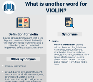 violin, synonym violin, another word for violin, words like violin, thesaurus violin