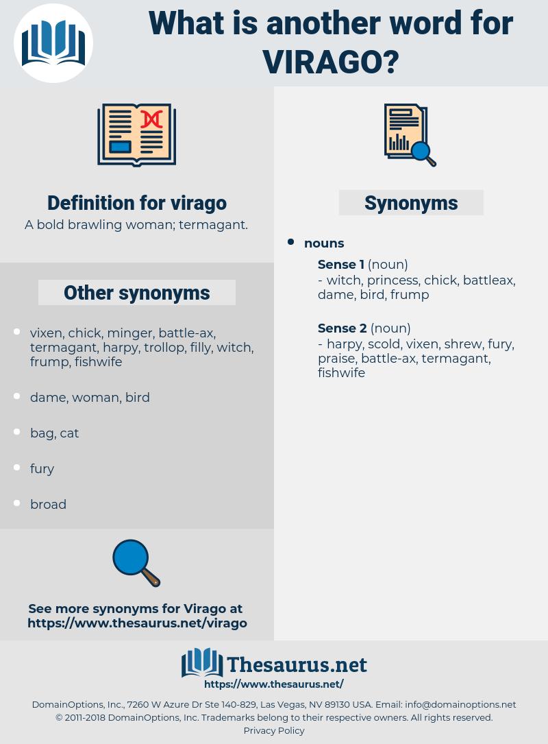 virago, synonym virago, another word for virago, words like virago, thesaurus virago